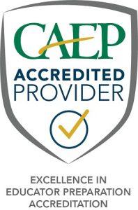 CAEP Accreditation logo
