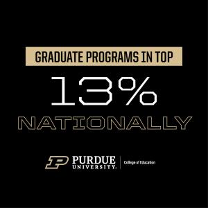 graduate programs in top 13 percent