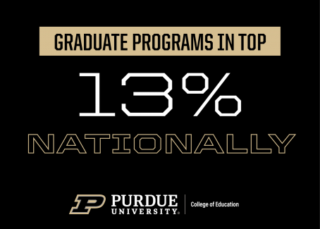 graduate programs in top 13 percent